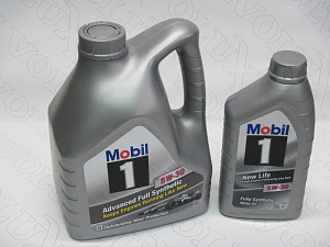Масло моторное Mobil 1 5W30 New Life 1